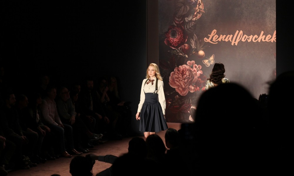 Lena Hoschek Runway Fashion Week Berlin Januar 2016 AW2016