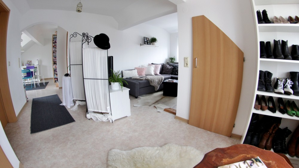 Wohnzimmer Fisheye