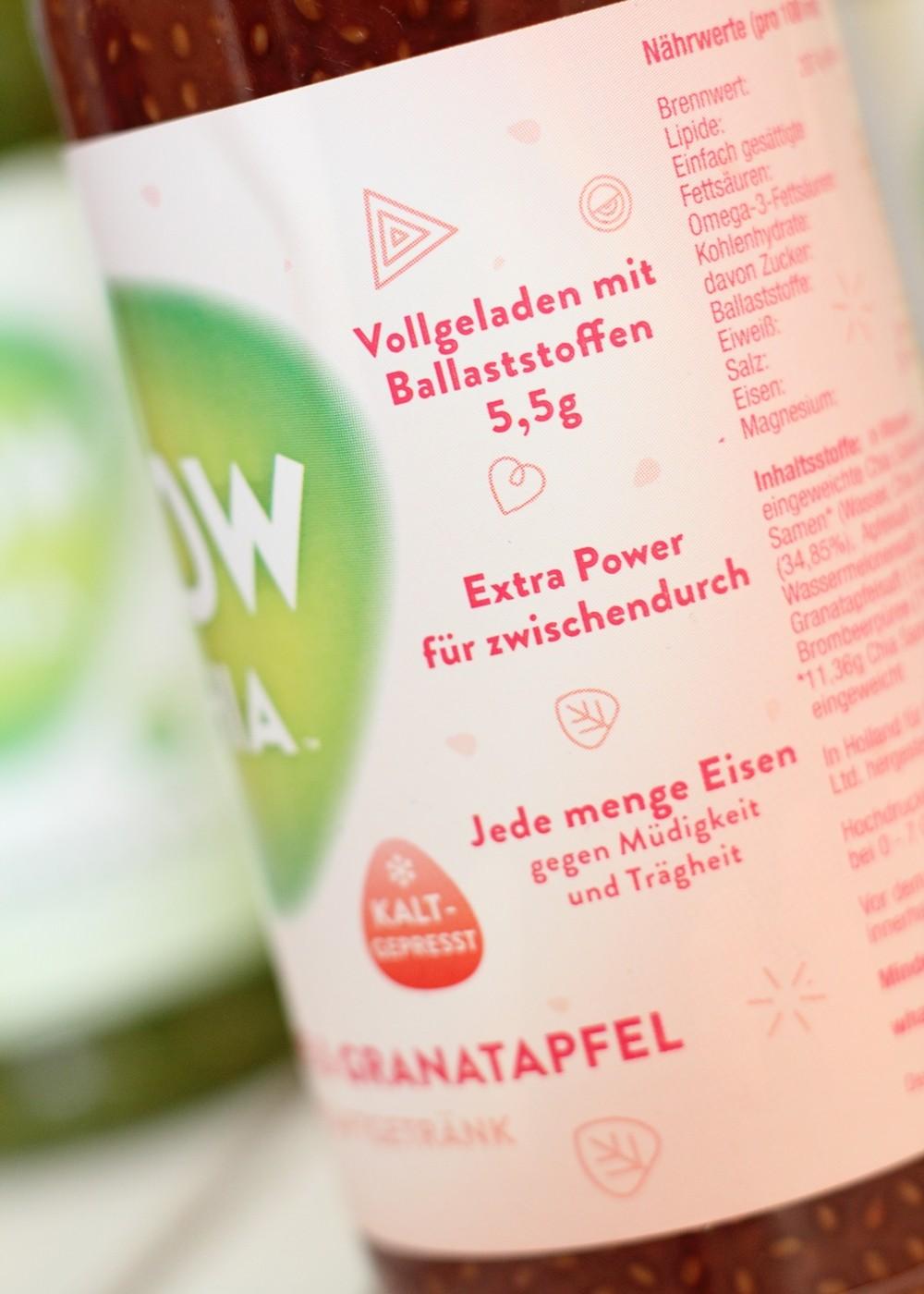 WowChia Fruchtsaftgetränk Wassermelone Granatapfel 3
