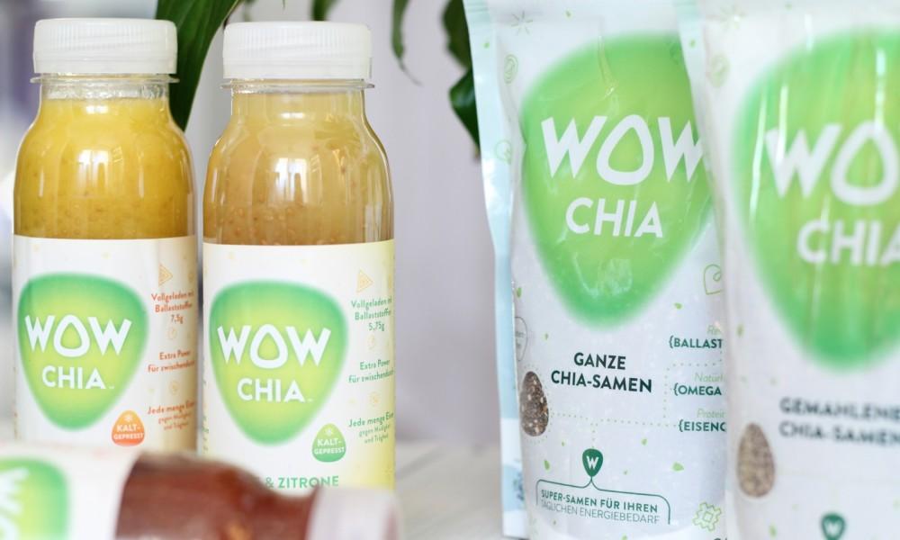 WowChia Fruchtsaftgetränk und Chiasamen 2
