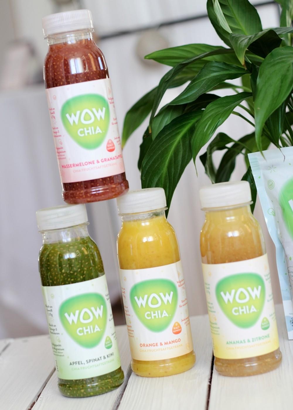 WowChia Fruchtsaftgetränke Sortiment