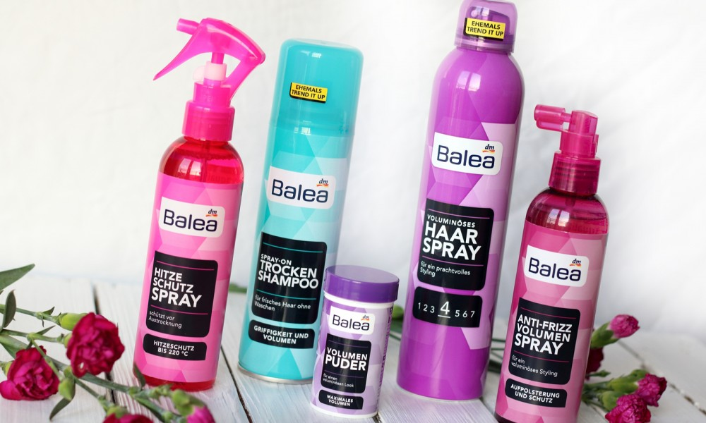 Balea Haarprofis Trockenshampoo Volumenpuder Haarspray 2