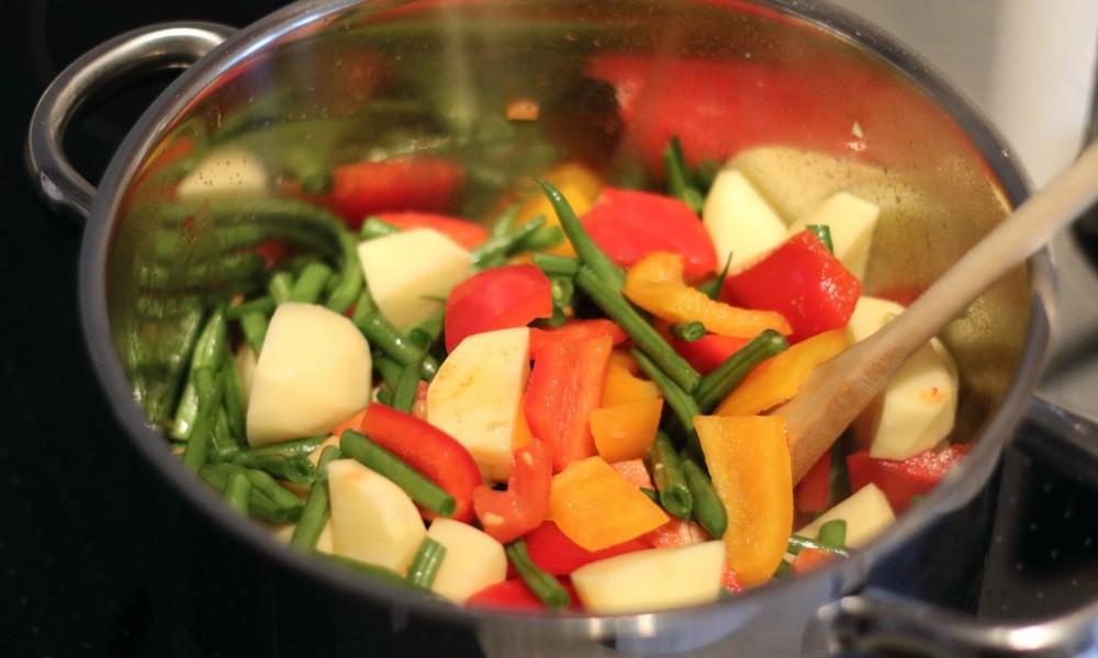 Griechischer Gemüsetopf Zubereitung 6