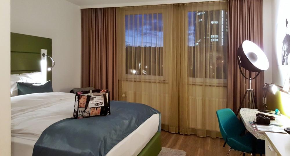 Hotel Indigo Düsseldorf Zimmer