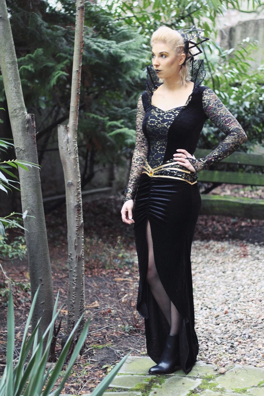 Karneval Megastore Böse Königin Kostüm Fasching Fashionblogger OOTD (1)