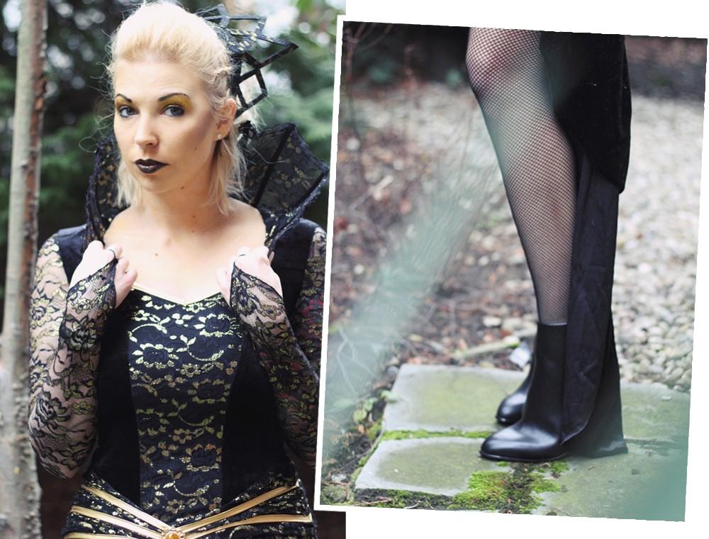 Karneval Megastore Böse Königin Kostüm Fasching Fashionblogger OOTD (2§)