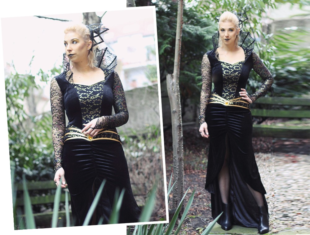 Karneval Megastore Böse Königin Kostüm Fasching Fashionblogger OOTD (22)