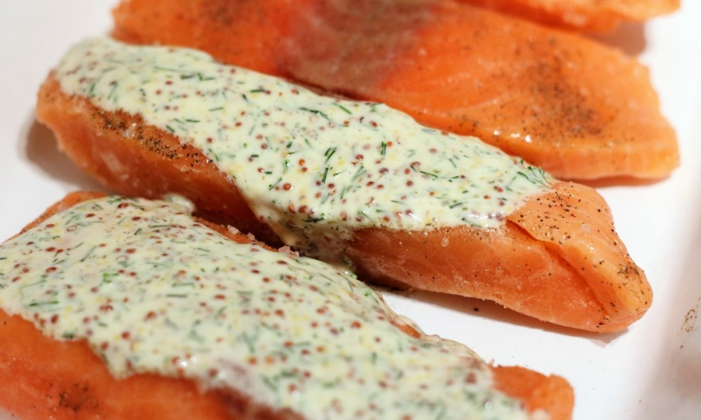 Lachs in Senf Dill Sauce000004