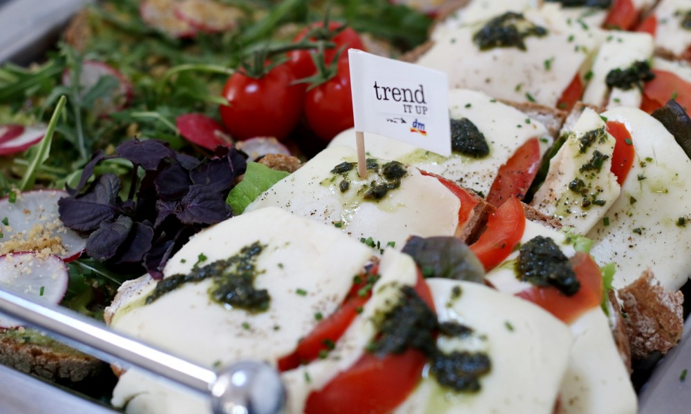 Mittagessen Snacks Trend it up Bloggerevent Düsseldorf 1
