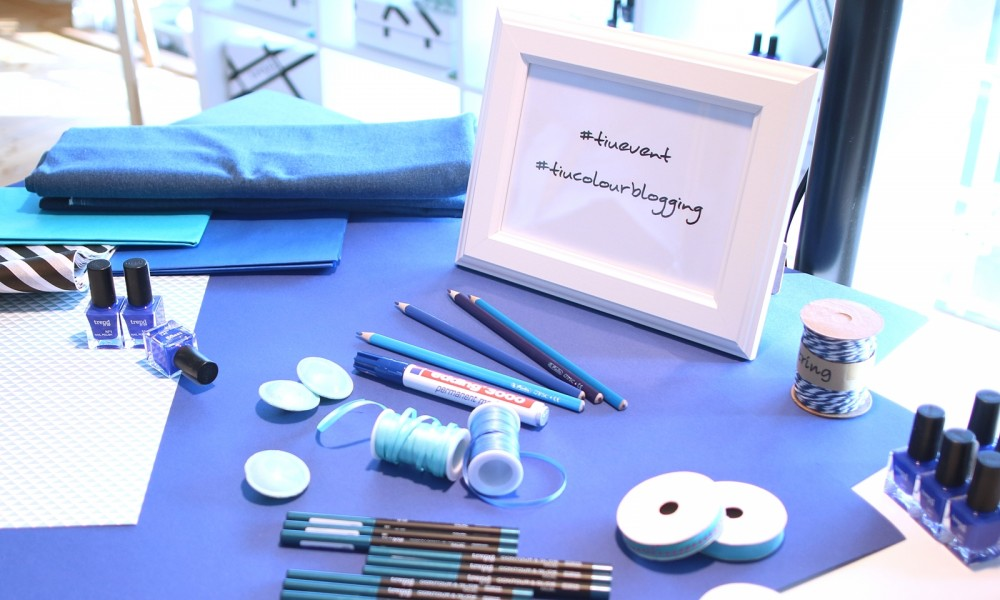 Trend it up Bloggerevent Colourblogging blau