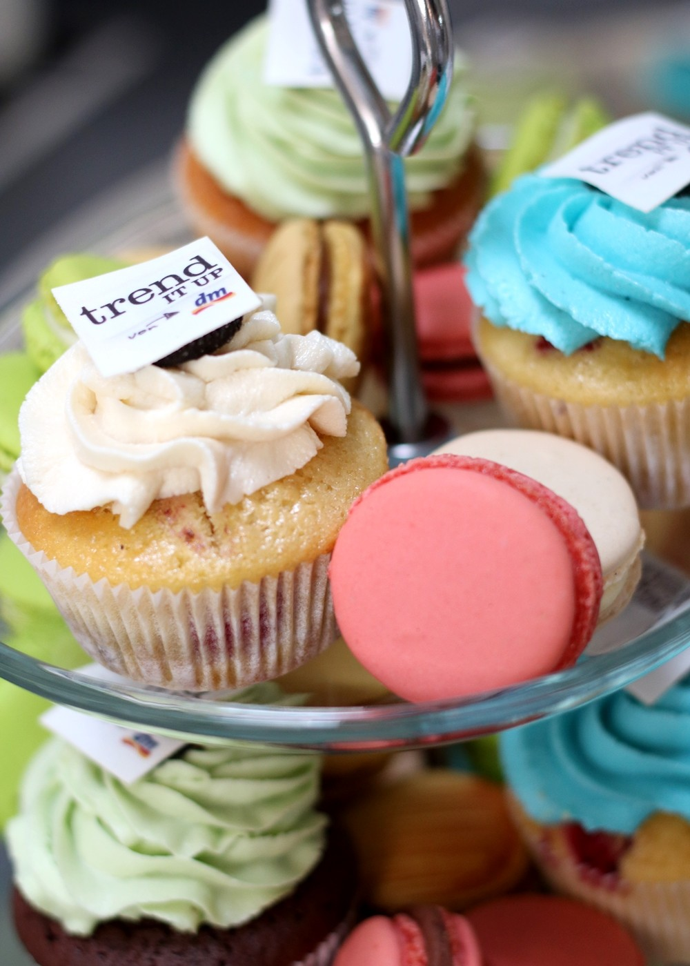 Trend it up Bloggerevent Cupcakes Macarons