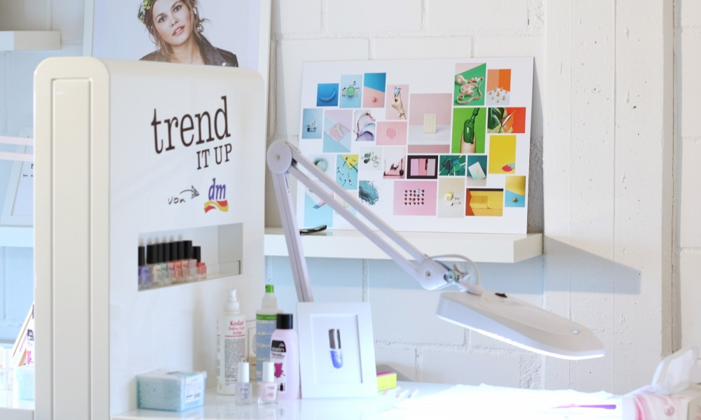 Trend it up Bloggerevent Düsseldorf 2016 Maniküre