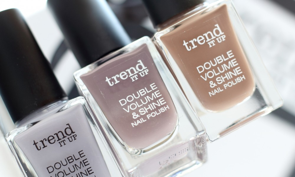 Trend it up Nagellacke Double Volume and Shine