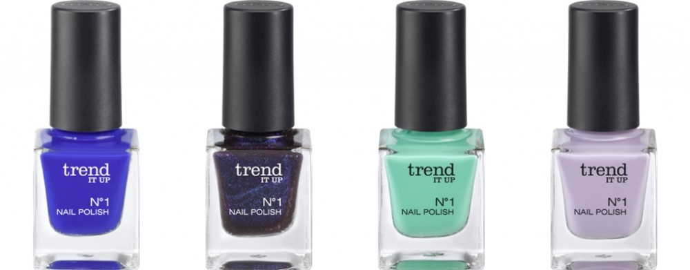 Trend it up Neuheiten No1 Nailpolish 220 190 210 200
