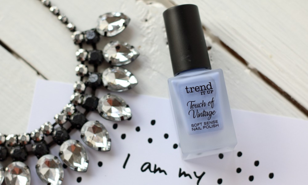 Trend it up Touch of Vintage hellblau Nagellack Nailpolish