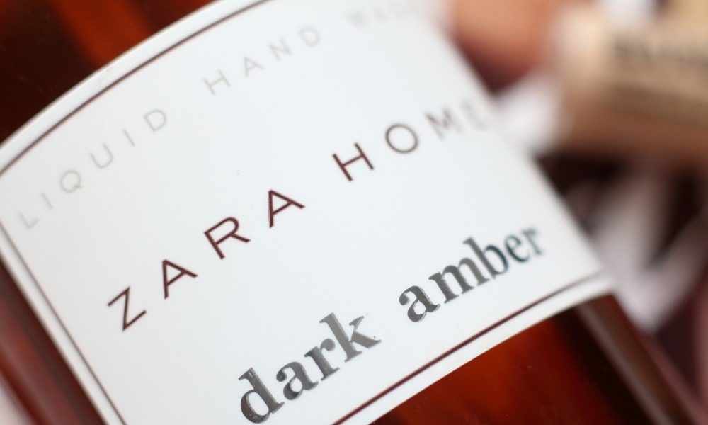 Zara Home Handseife Dark Amber