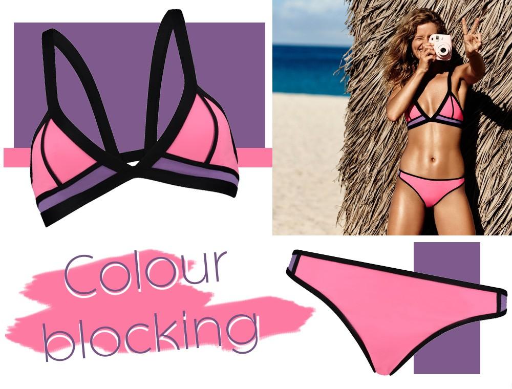 Hunkemöller Bikinis Colour Blocking Sommer 2016