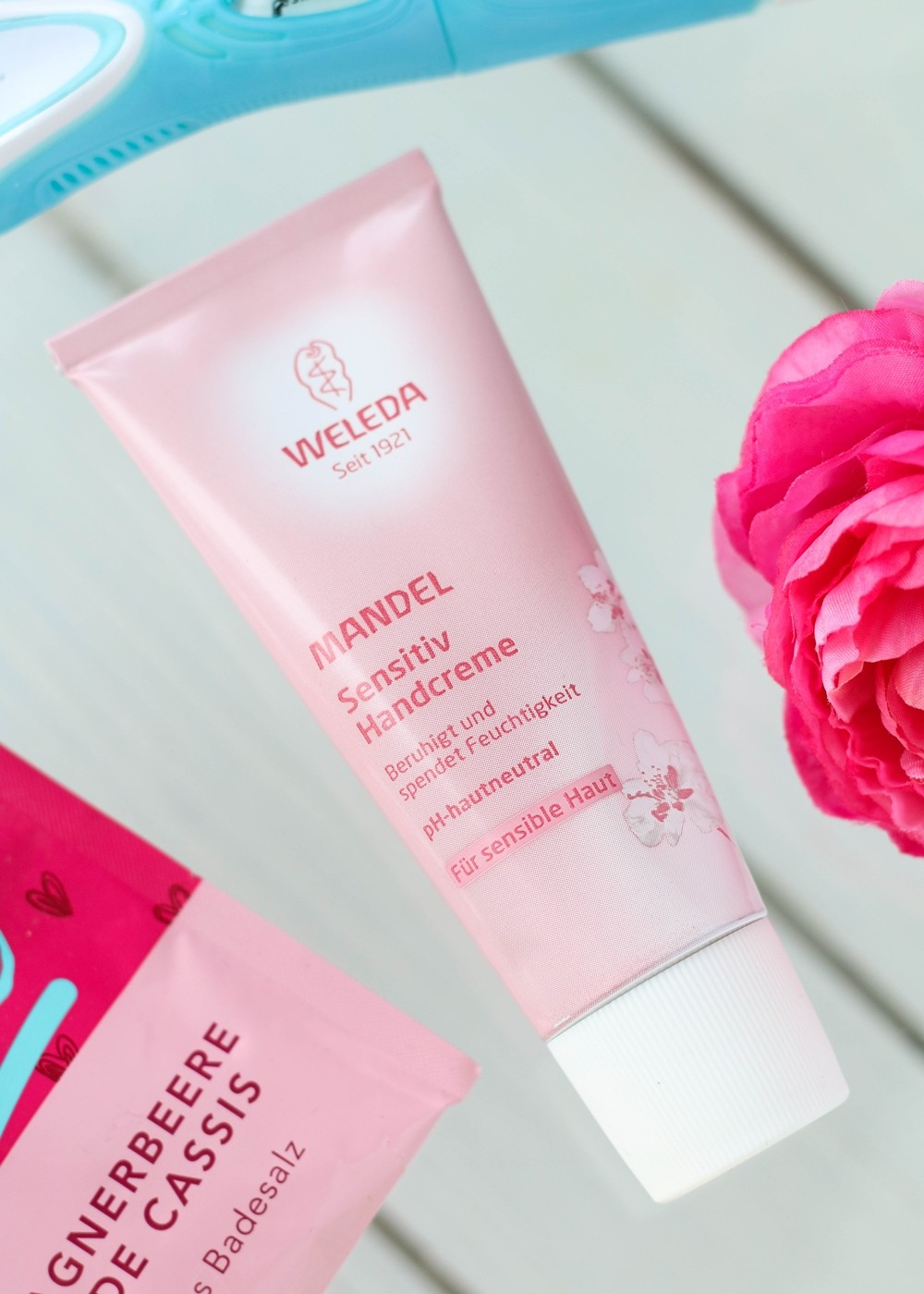 Beautypress Box April Weleda Handcreme