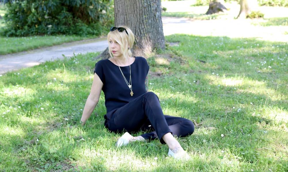 Fashionbloggerin Karlsruhe Outfit Jumpsuit Aldi Jette Joop Daniel Wellington Dapper (19)