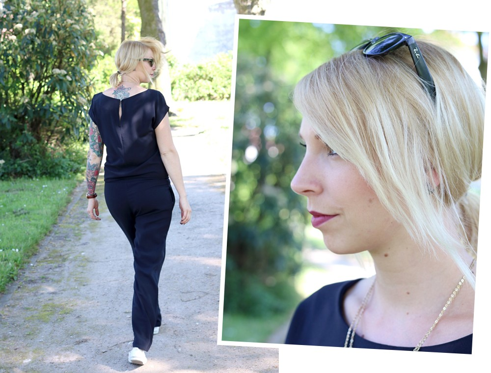 Fashionbloggerin Karlsruhe Outfit Jumpsuit Aldi Jette Joop Daniel Wellington Dapper (4)