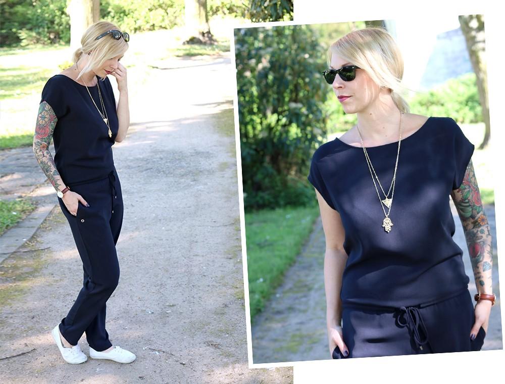 Fashionbloggerin Karlsruhe Outfit Jumpsuit Aldi Jette Joop Daniel Wellington Dapper (6)