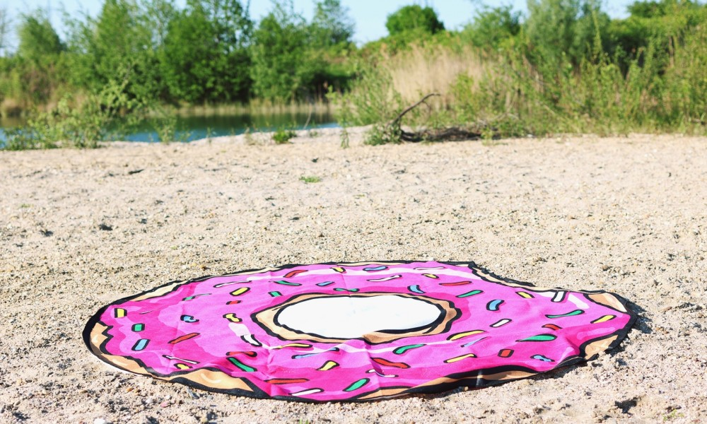 Flamingoschwimmring Donutstrandtuch Accessoires See Strand Radbag (7)