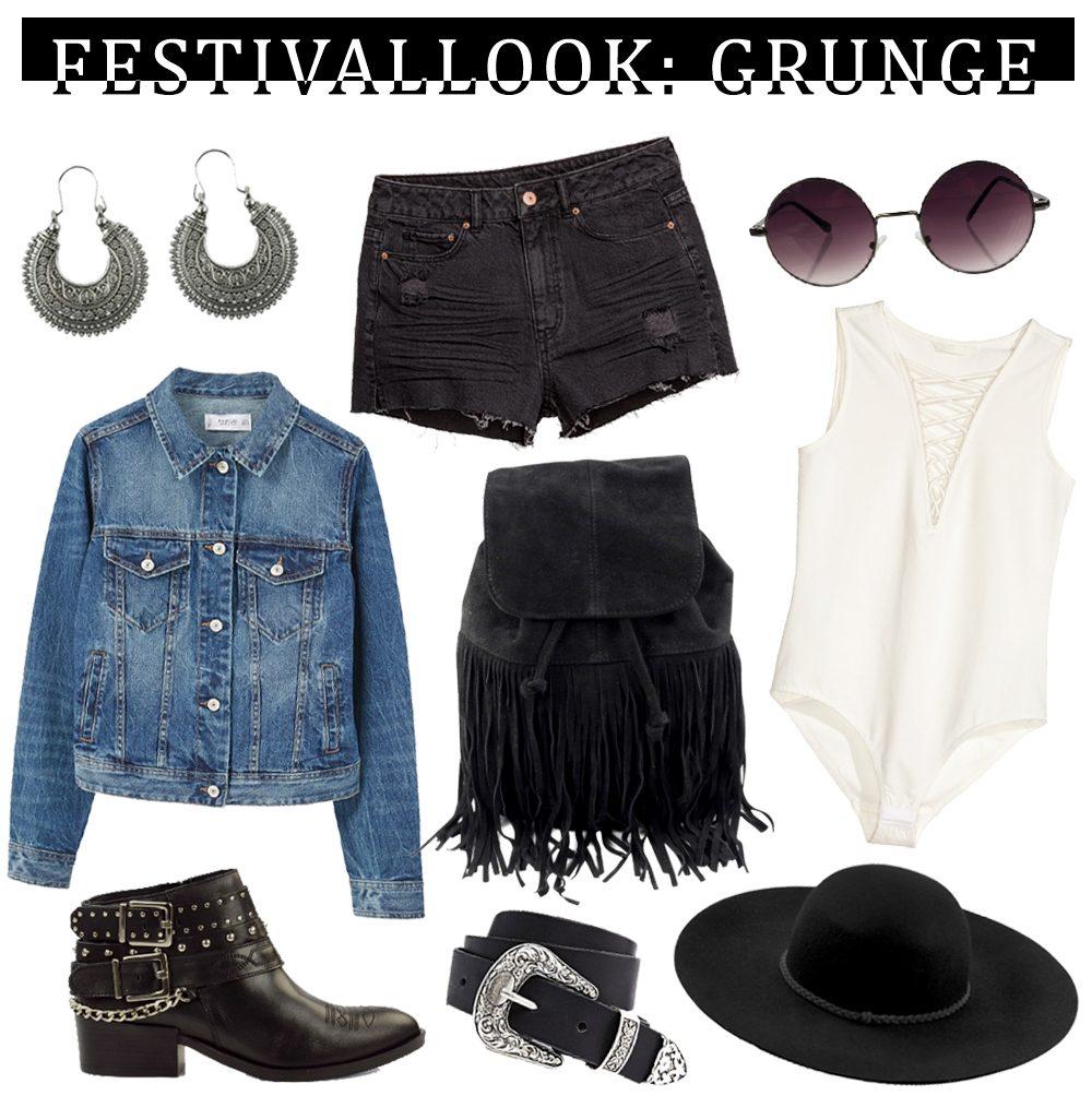 Festivallook Sacha Grunge