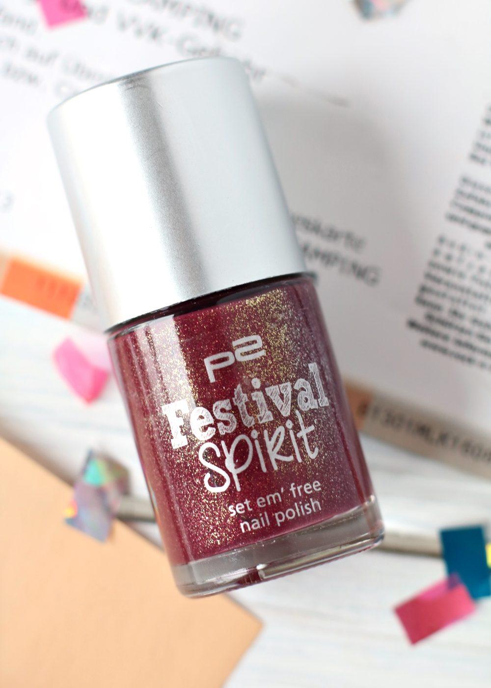 P2 Limited Edition Festival Spirit Nagellack Blush Lip Balm (5)