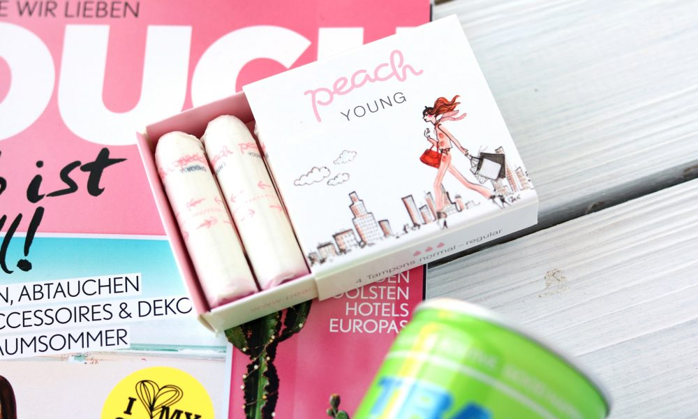 Berlin Fashion Week Blog Box Peach Hygieneprodukte