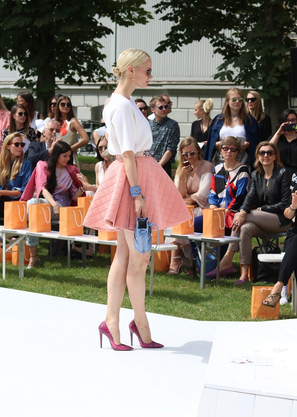 Marina Hoermanseder Berliner Mode Salon Fashion Week Juli 2016 Franziska Knuppe