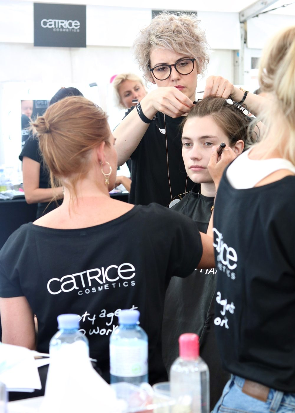 Mercedes Benz Fashion Week Berlin Juli 2016 Berliner Mode Vladimir Karaleev backstage (3)