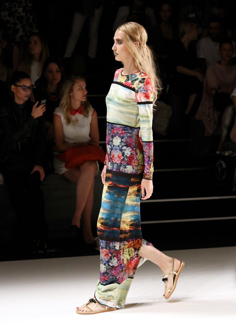 Rebekka Ruetz Mercedes Bens Fashion Week 2017 Runway Funkart