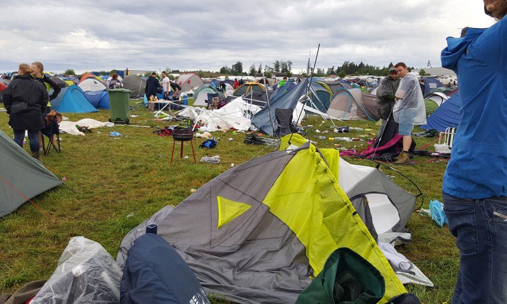 Southside Festival 2016 Unwetter
