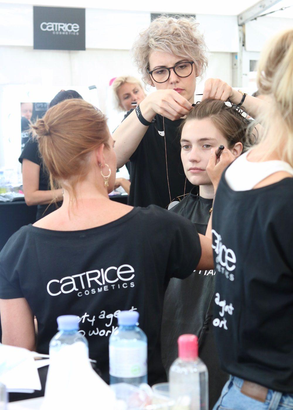 Berliner Mode Salon Backstage Catrice Vladimir Karaleev (10)