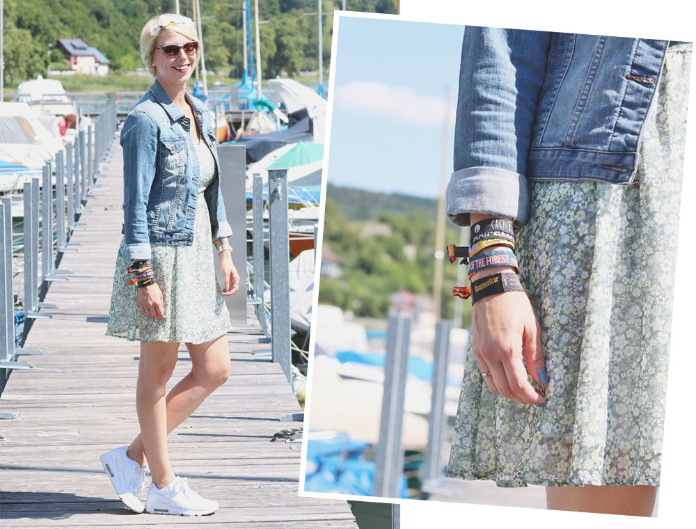 Fashionblogger Outfit Bodensee Blümchenkleid Jeansjacke Nike Air Max Sonnenbrille Gerry Weber (17)
