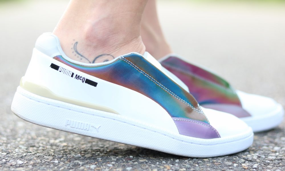 Fashionbloggerin Karlsruhe Outfit rosa Blousonjacke Puma Sneaker Jeans Cluse Uhr (22)