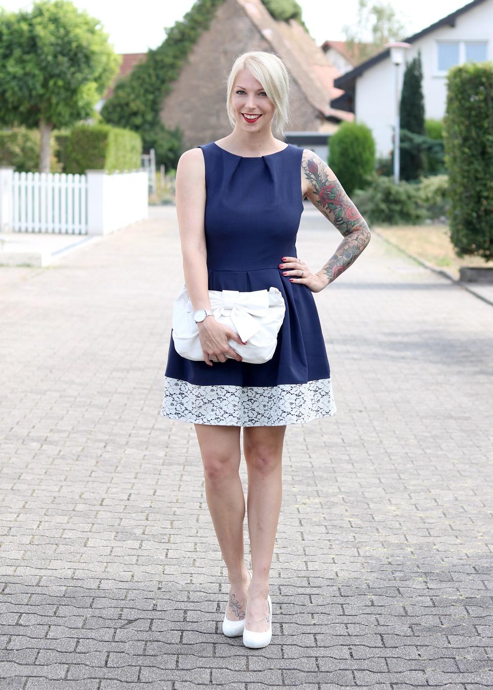Outfit Hochzeit Zalando Kleid Closet Pumps Deichmann Schlupftasche