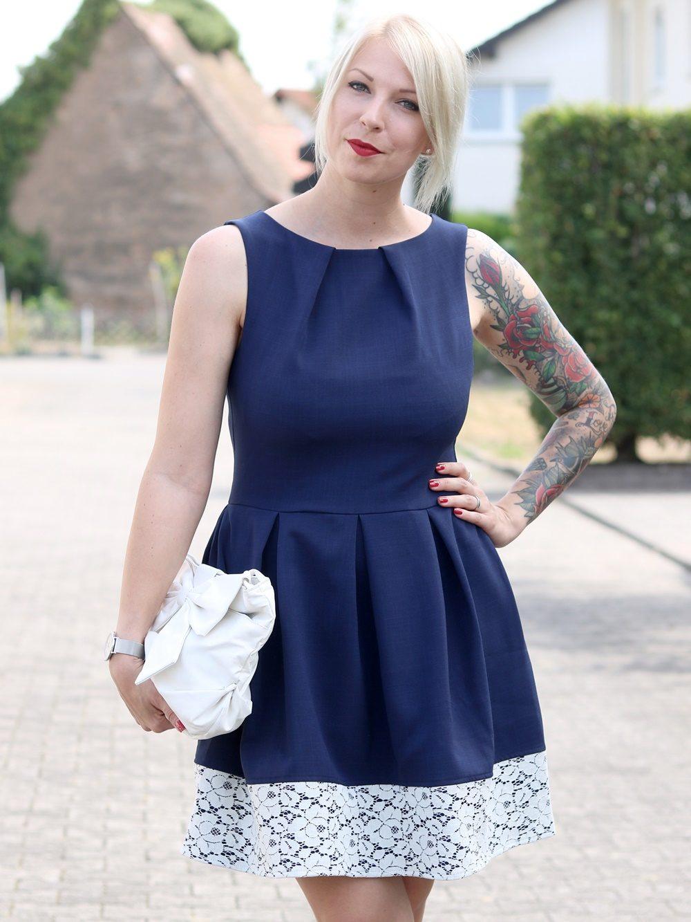 Outfit Hochzeit Zalando Kleid Closet Pumps Deichmann Schlupftasche Fashionblogger Karlsruhe (8)