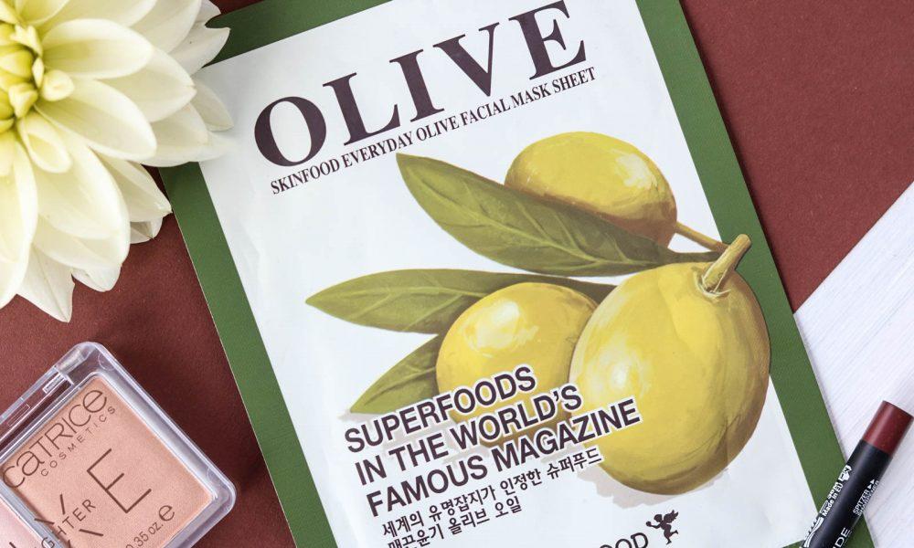 beautyblogger-favoriten-skinfood-olive-mask-sheet-1