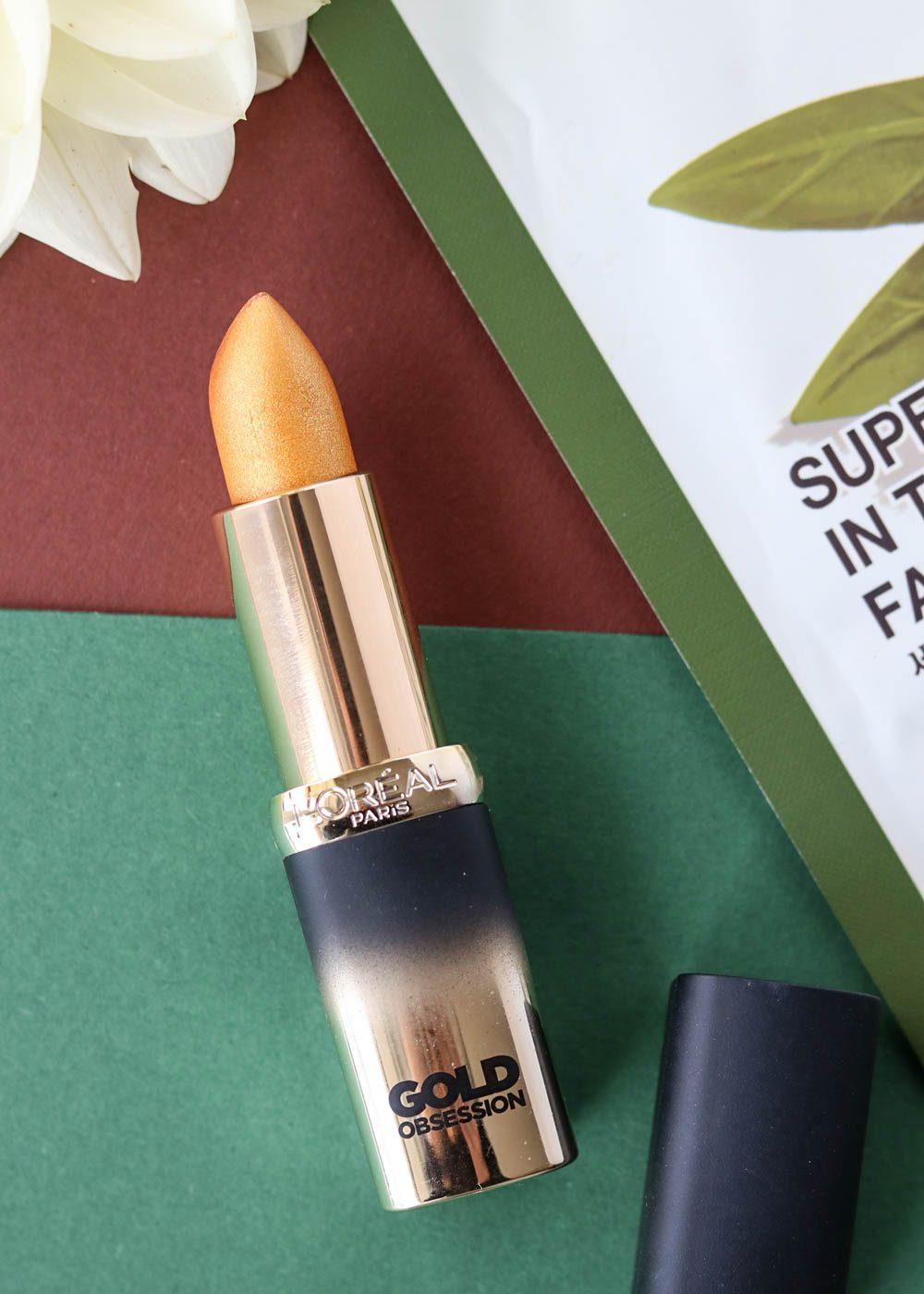 beautyblogger-favoriten-loreal-color-riche-gold-obsession-lippenstift-1-2