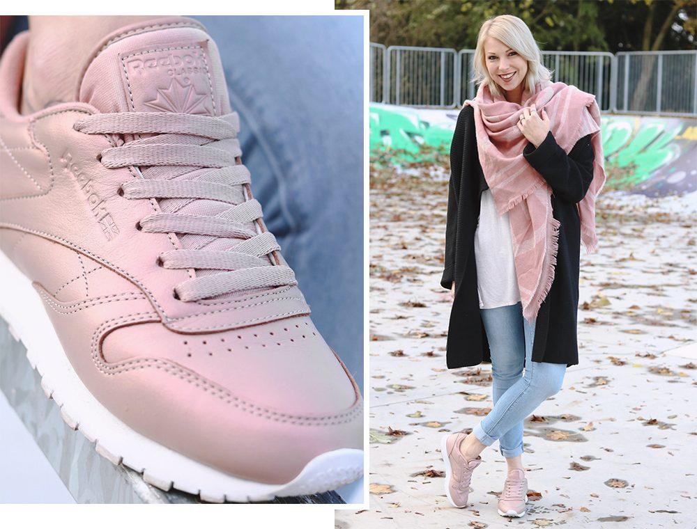 new concept 0c4aa 4f60b Outfit: Sneakermädchen - Reebok Classic Metallic - Lavie Deboite