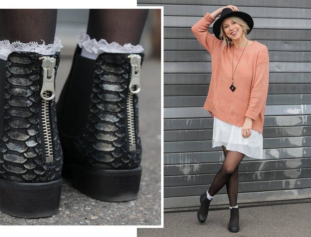 fashionblogger-outfit-ankle-boots-shoemates-rosa-strickpullover-zara-lagenlook-3