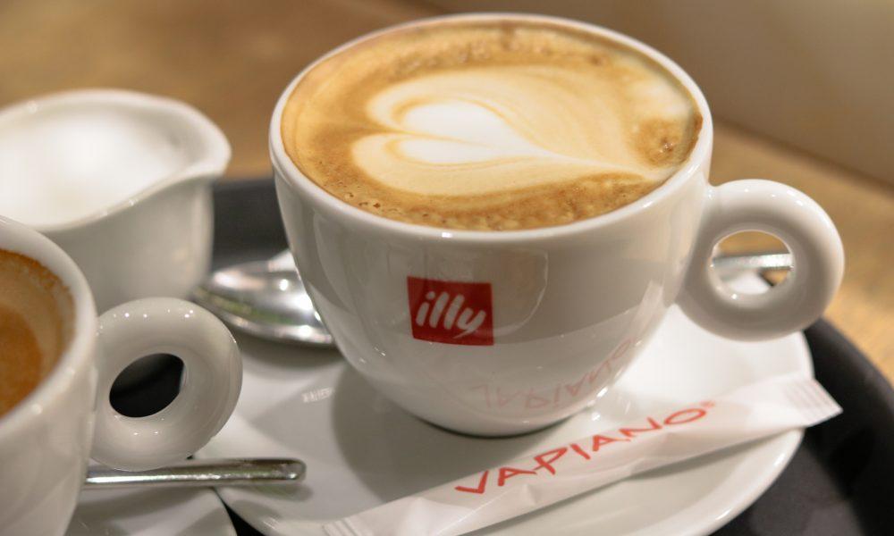Vapiano Mannheim Illy Kaffee Crema
